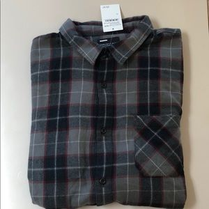 Flannel Shirt New with tags